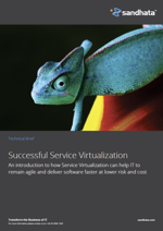 Service virtualization solution brief