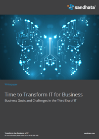 Time to Transform IT for business - Email White paper