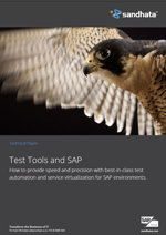 Test tools and SAP